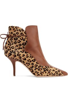 5c7bfe3b26d4 Malone Souliers - Jordan 70 leopard-print calf hair and leather ankle boots