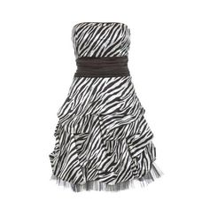 Best Zebra Dress Ever!!!
