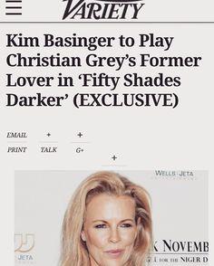 #FiftyShades #Elena #KimBasinger