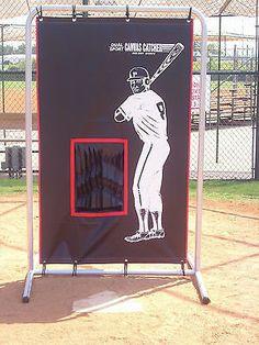 Baseball Catcher 2 Sports Backstop W/ Frame Football Baseball Throwing