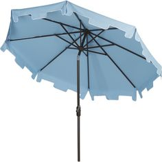 Take a break under the shade of this pulley-operated umbrella, an essential addition to the patio or poolside. Product: Umbrella