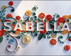 13 Paper Quilling Design Ideas That Will Stun Your Friends Quilling Letters, Paper Quilling Patterns, Quilling Paper Craft, Paper Crafts, Diy Crafts, Quilling Ideas, Quiling Paper Art, Paper Quilling For Beginners, Paper Owls