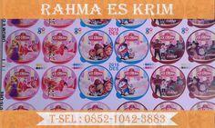 Cup Es Krim Plastik Ukuran 100ml banyak rasa