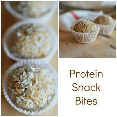 Today from the Andy's Market Test Kitchen a recipe to keep you energized all day long.      Protein Snack Bites     1 cup fresh ground A...