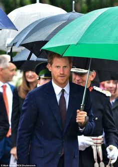 Prince Harry's first visit to Northern Ireland | Daily Mail Online