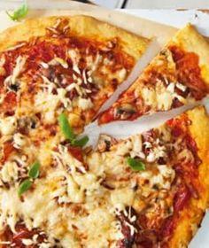 Jahodové nanuky se smetanou a tvarohem   Recepty na Prima Fresh Vegetable Pizza, Cauliflower, Sushi, Thing 1, Fresh, Vegetables, Lasagna, Cauliflowers, Head Of Cauliflower