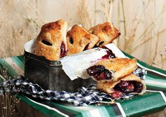 Cherry Hand Pies - I've made these twice and they are amazing. Perfect picnic food.