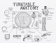 Turntable Anatomy: An interactive guide to the key parts of a record player - The Vinyl Factory - the Home of Vinyl