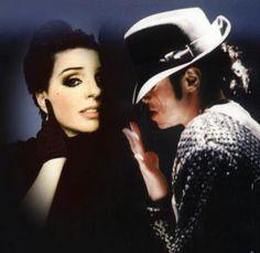 Liza Minelli & Michael Jackson