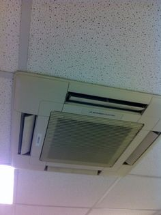 Double Stacked Mitsubishi Electric Air Conditioning