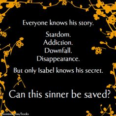 I cannot wait to read Sinner by Maggie Stiefvater.
