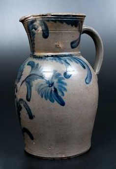 Planting Tulips, July 18th, Plant Design, Vintage Pottery, Stoneware, Virginia, Auction, Boards, Houses