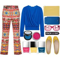 How To Wear Pack and Go Cuba - Top Set 1 13 17 Outfit Idea 2017 - Fashion Trends Ready To Wear For Plus Size, Curvy Women Over 20, 30, 40, 50