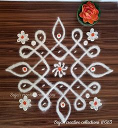 Simple Rangoli Border Designs, Indian Rangoli Designs, Rangoli Designs Latest, Simple Rangoli Designs Images, Rangoli Designs Flower, Free Hand Rangoli Design, Rangoli Patterns, Small Rangoli Design, Rangoli Ideas