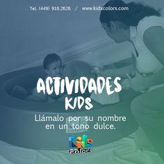 Kids Colors - Estimulación Temprana #EstimulaciónTemprana Te va a sorprender la manera en la que responde.  www.kidscolors.com  (449) 916.2626