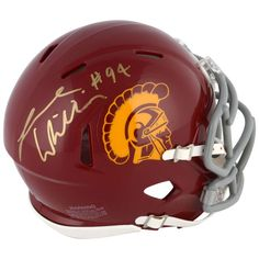 Leonard Williams USC Trojans Fanatics Authentic Autographed Riddell Mini Helmet - $89.99