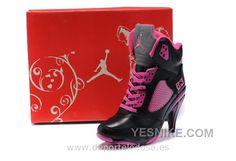 info for 9290c 808d2 Air Jordan 5 High Heels Shoes Pink Black Jordan Heels, Air Jordan Shoes,  Nike