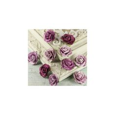 prima-roses (¥480) ❤ liked on Polyvore featuring backgrounds, flowers, purple, photos and roses