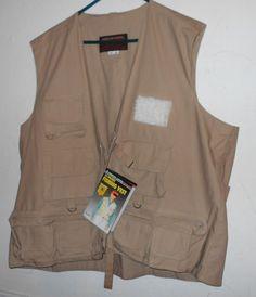 American Camper Fishing Vest Men's Size XXL 16 Pocket NWT           4036 #AmericanCamper