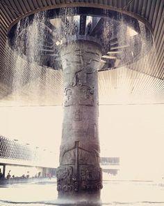 Fountain at Museo Nacional de Antropologia