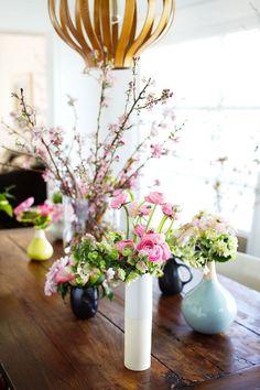 spring floral arrangements by san francisco floral designer, tulipina. Spring Flower Arrangements, Spring Flowers, Floral Arrangements, Floral Style, Floral Design, Beautiful Home Designs, Flower Names, Bouquet, Floral Photography