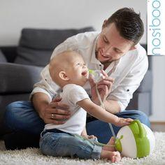 Nosiboo, der kinderfreundliche Nasensauger (elektrisch, blau) - Ein perfektes Babyparty-Geschenk!: Amazon.de: Baby