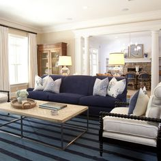 Sofa Design Ideas modern navy blue sectional sofa design ideas, pictures, remodel