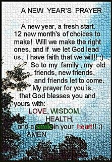 happy new year prayers | jel speaks: a new years prayer | Recipes to ...