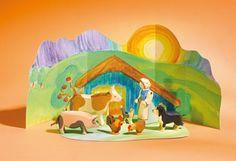 Ostheimer 60303 - Bauernhof Set mit Diorama 8-tlg. Ostheimer http://www.amazon.de/dp/B00FKHFQTS/ref=cm_sw_r_pi_dp_OBk2ub139N6ZN