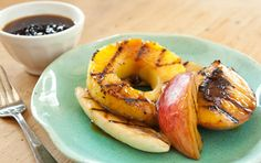 Have you tried grilling fruit? It's INCREDIBLY easy... take a look!