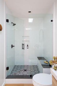 9 Admirable Cool Tips: Bathroom Remodel Shower Shampoos bathroom remodel blue shelves.Bathroom Remodel On A Budget bathroom remodel diy Bathroom Remodel Glass Doors. Diy Bathroom Remodel, Bath Remodel, Bathroom Renovations, Bathroom Interior, Modern Bathroom, Small Bathroom, Contemporary Bathrooms, Basement Bathroom, Bathroom Cabinets