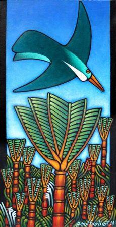 Nikau palm New Zealand Art, Nz Art, Maori Art, Kiwiana, Mural Ideas, Iron Art, Stained Glass Projects, Paintings I Love, Art Classroom