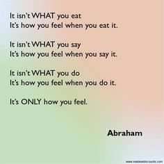 Abraham Hicks For more ideas on reducing tension, check out findingstressrelief.com