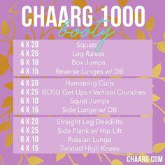 CHAARG 1000 BOOTY #SWEATSESH | CHAARG.COM