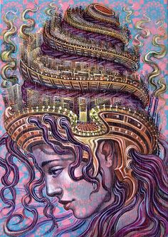 Visionary art. Passion #visionary #art #vibrant #trippy #visual #psychedelic #adventure #passion