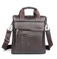 Men Genuine Leather Business Single Shoulder Bag Fashion Trend Cross Body Messenger Bags Male Tote Handbag Luxury Briefcase
