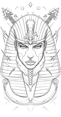 Tattoo Design Drawings, Tattoo Sleeve Designs, Sleeve Tattoos, Art Drawings, Anubis Drawing, Egypt Concept Art, Tattoo Outline Drawing, Small Chest Tattoos, Egypt Tattoo