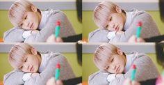 Here's Woozi from Chocolate MV