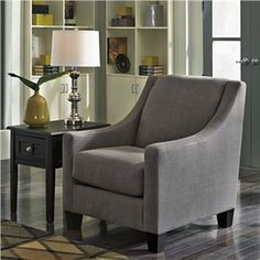 Ashley Maier Gray Accent Chair