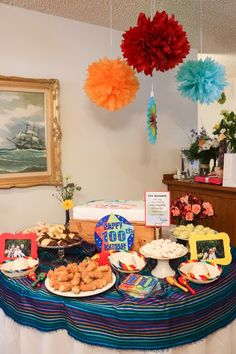 Fiesta Themed Dessert Spread