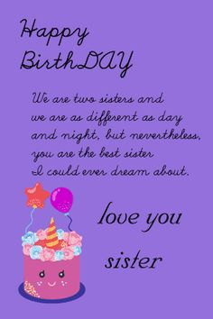 happy birthday letter for sister from sister with birthday notes fully customized products
