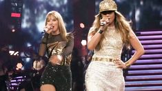 "Jennifer Lopez & Taylor Swift  - ""Jenny from the Block"" live at Staples ... ty ... we have alot friends!!!"