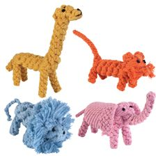 Rope Menagerie Dog Toys
