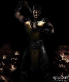 Scorpion Mortal Kombat by kostasishere on DeviantArt Scorpion Mortal Kombat, Video Game, Darth Vader, Comic Books, Batman, Creatures, Deviantart, Superhero, Comics