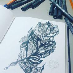 Sobre a espera... #texture #drawing #sketchbook #rabiscododia #art #draw #paper #rapport