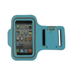 PREMIUM BLUE RUNNING SPORTS GYM ARMBAND CASE COVER for iPhone 5 5G iPod Touch5 5 -  Product Features  Brand new and high quality Exercise your right to a great soundtrack with this ultimate workout armband case This durable, lightweight armband case