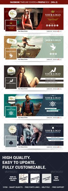 Facebook Timeline Covers Shop Online Vol.2 — Photoshop PSD #fashion #set • Available here → https://graphicriver.net/item/facebook-timeline-covers-shop-online-vol2/8545592?ref=pxcr