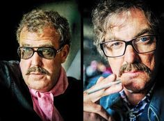 Jeremy Clarkson and James May 😂 Top Gear Funny, Cue The Music, Top Gear Bbc, Clarkson Hammond May, James Richards, James May, Jeremy Clarkson, Gear S, Tie Fighter