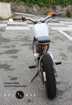Yamaha SR125 Scrambler 2