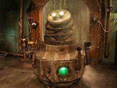 Light Bulb, Robot, Steampunk, Lighting, Home Decor, Bulb Lights, Homemade Home Decor, Robotics, Lights